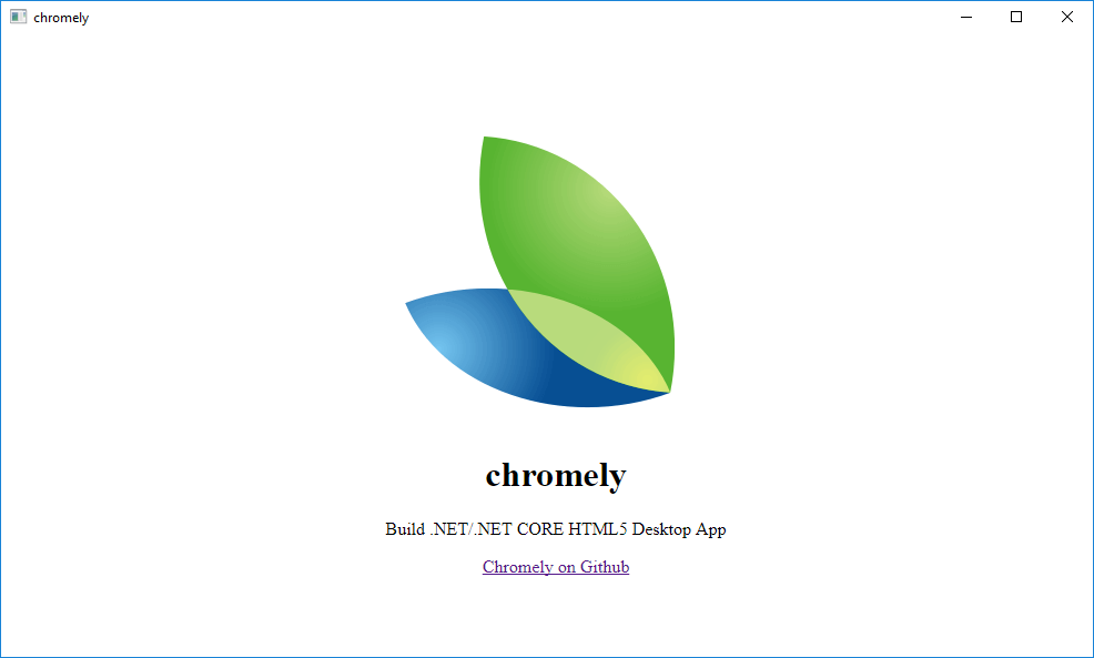 Chromely — Lightweight Alternative to Electron for  NET/ NET Core
