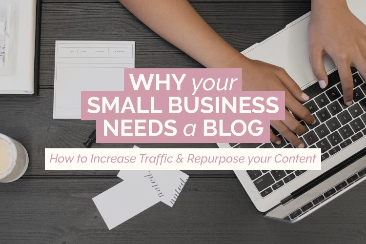 why your small business needs a blog cover