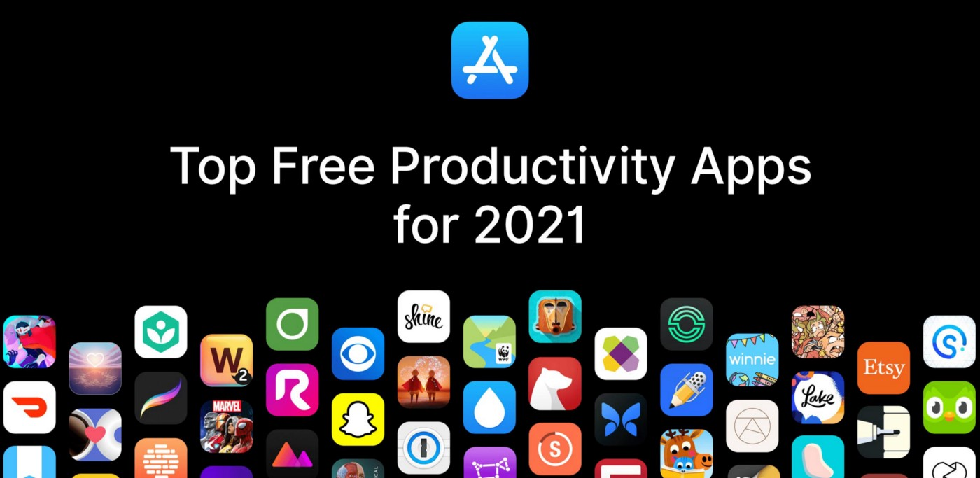 Top Free Productivity Apps for 2021