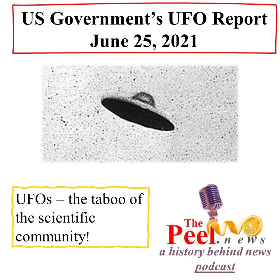 Listen to our podcast conversation with the former chair of Harvard's Dept. of Astronomy regarding Pentagon's June 25th UFO report.