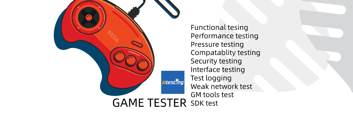 The role and main work of game tester in a game development team.