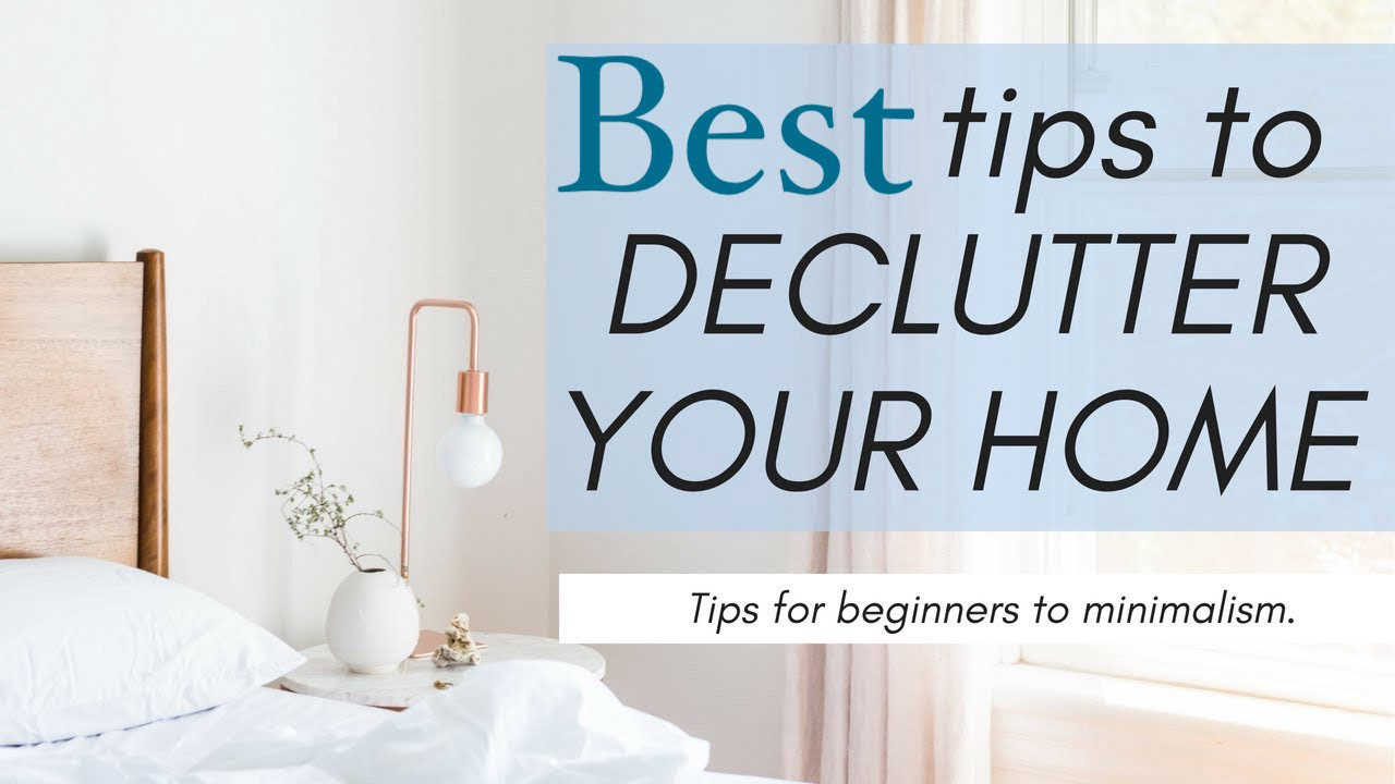 Declutter your home without shifting