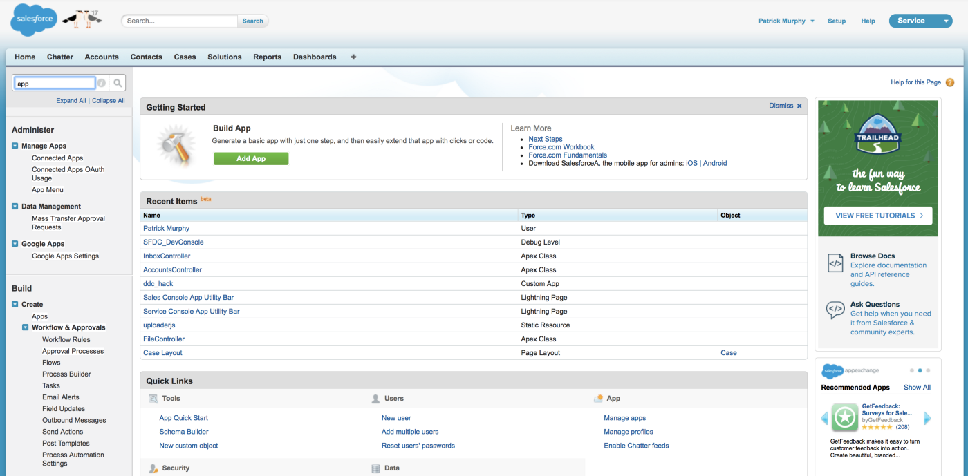 First-time Dev: Building a Fullstack JS App for Salesforce with