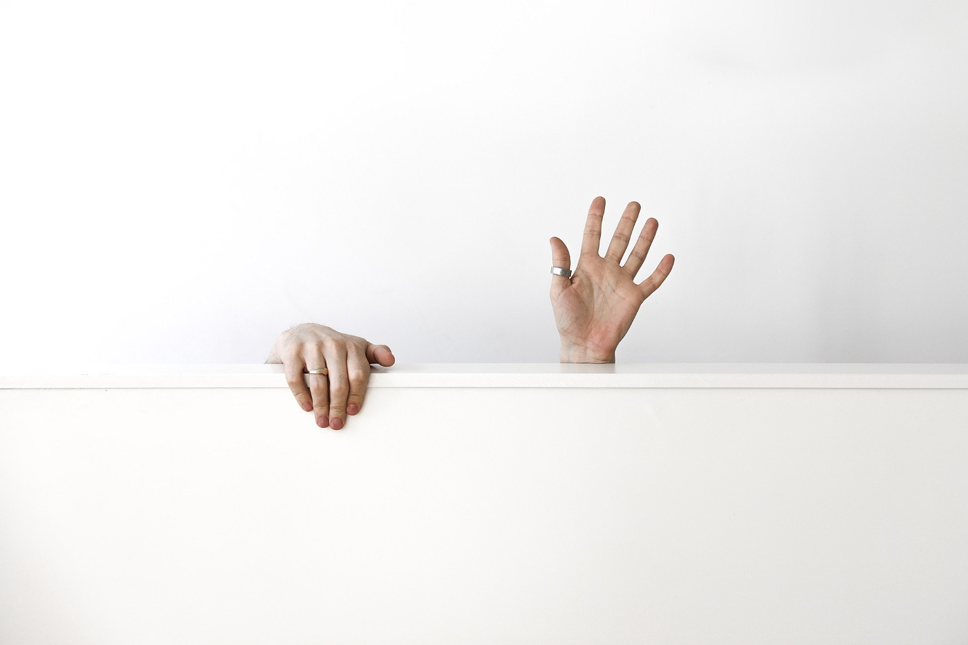 Hello! We're Dejima. This is an image of one of the founders hands waving at you.