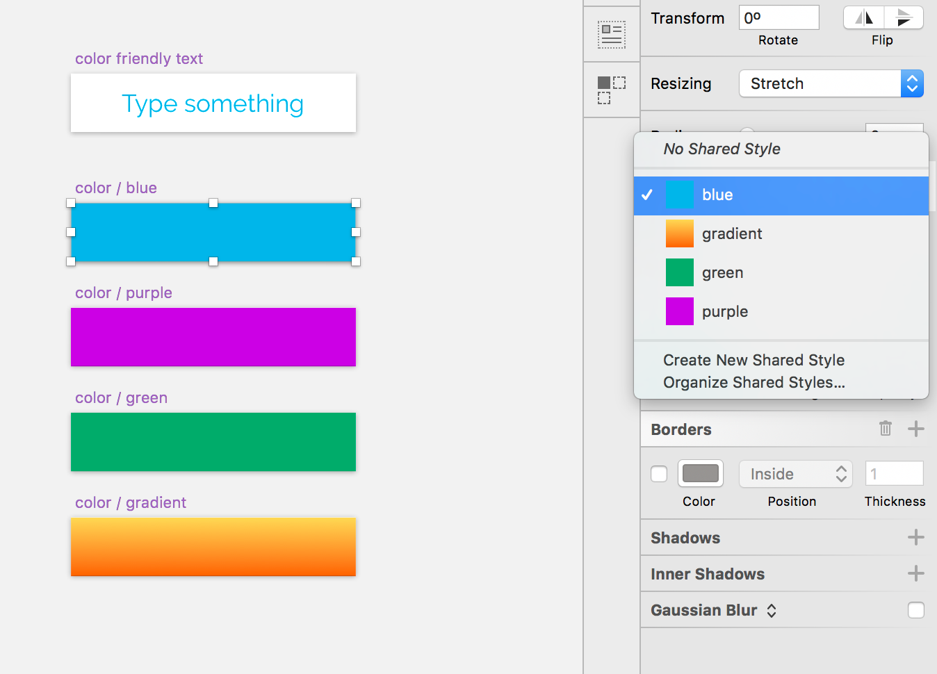 """Sketch: """"Overriding"""" the color of text layers in symbols"""