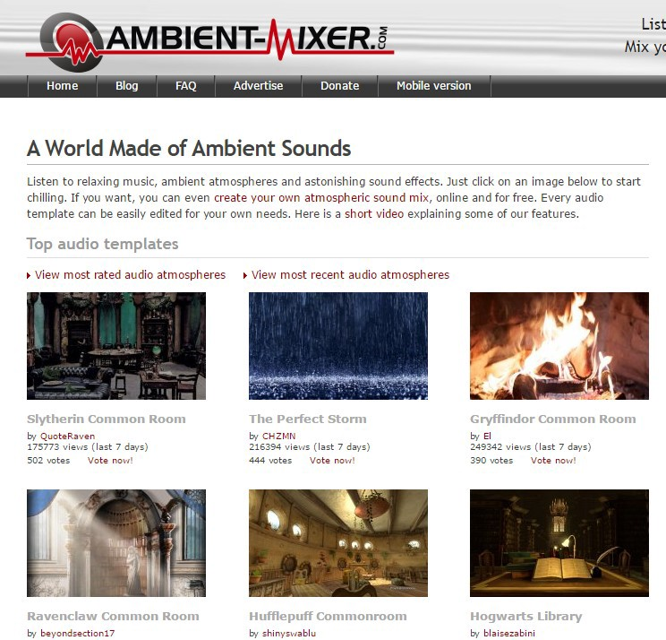 The Best Ambient Noise Generators For Creative Work