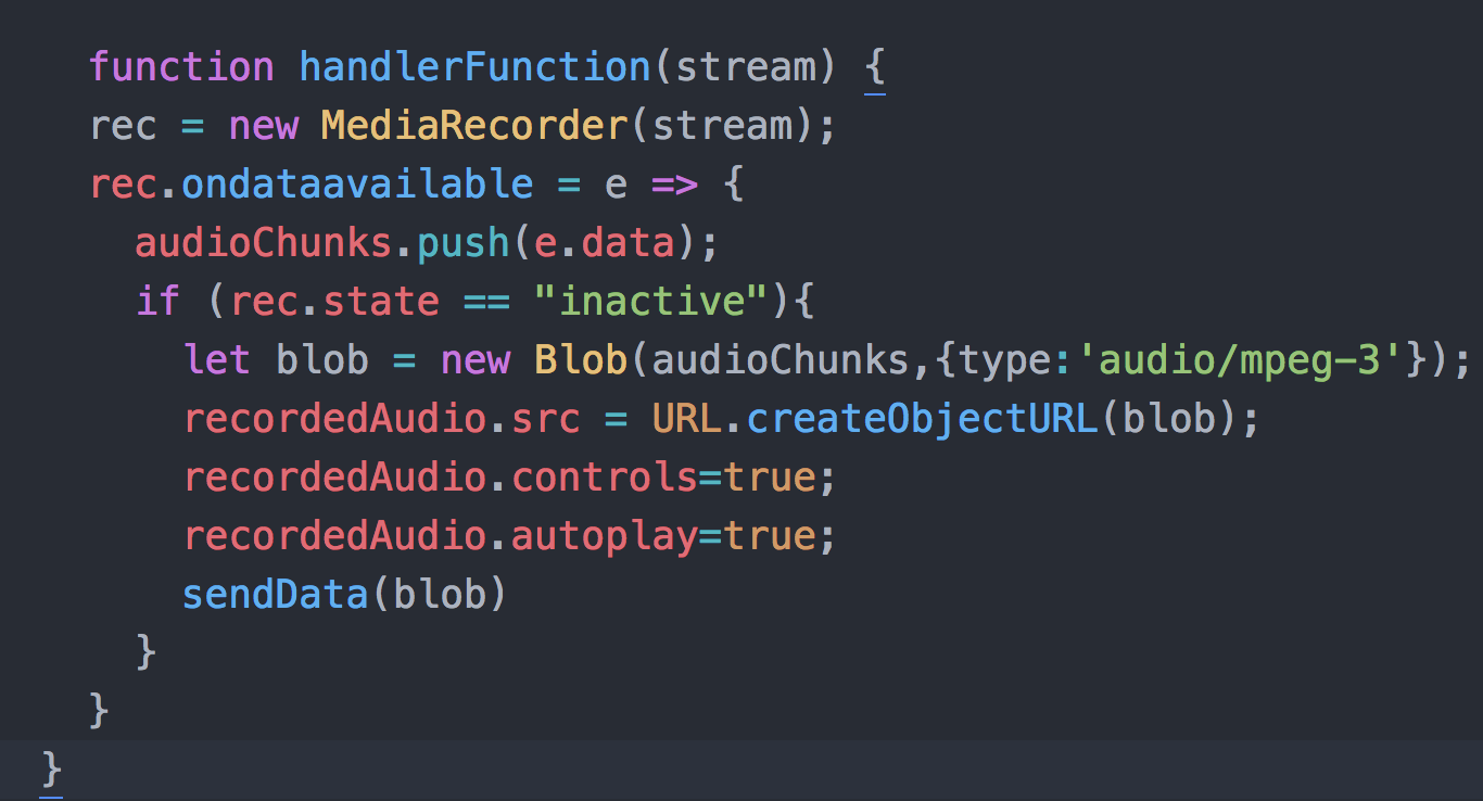 Javascript Tutorial: Record Audio and Encode it to mp3