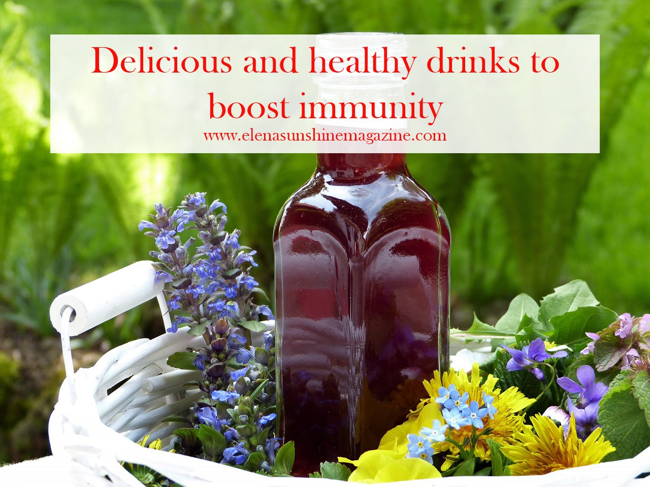 Delicious and healthy drinks to boost immunity