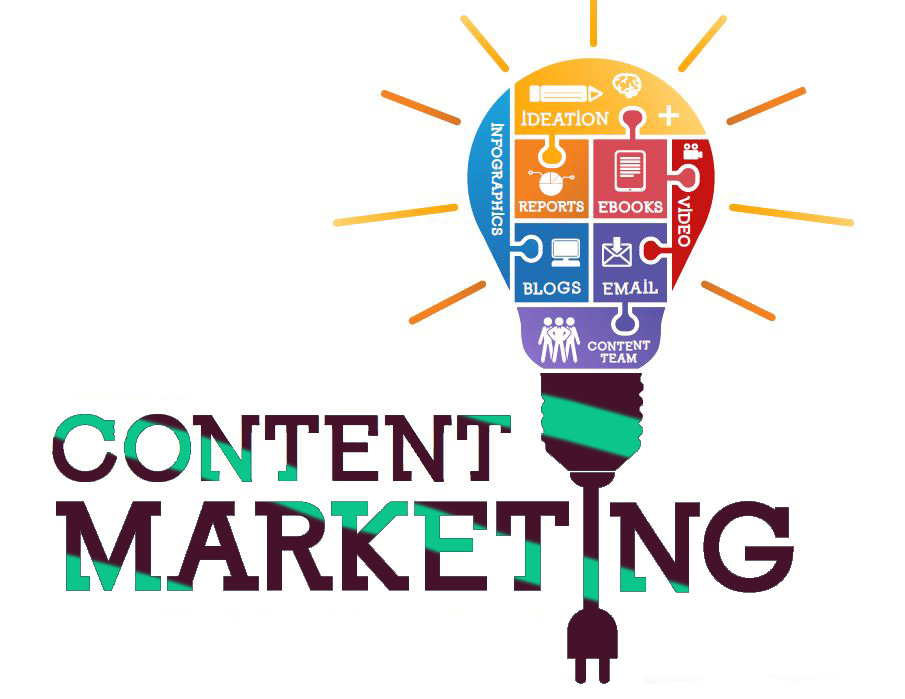 The content marketing market is expected to hold larger market share during the forecast period of 6 years i.e. 2019–2024.