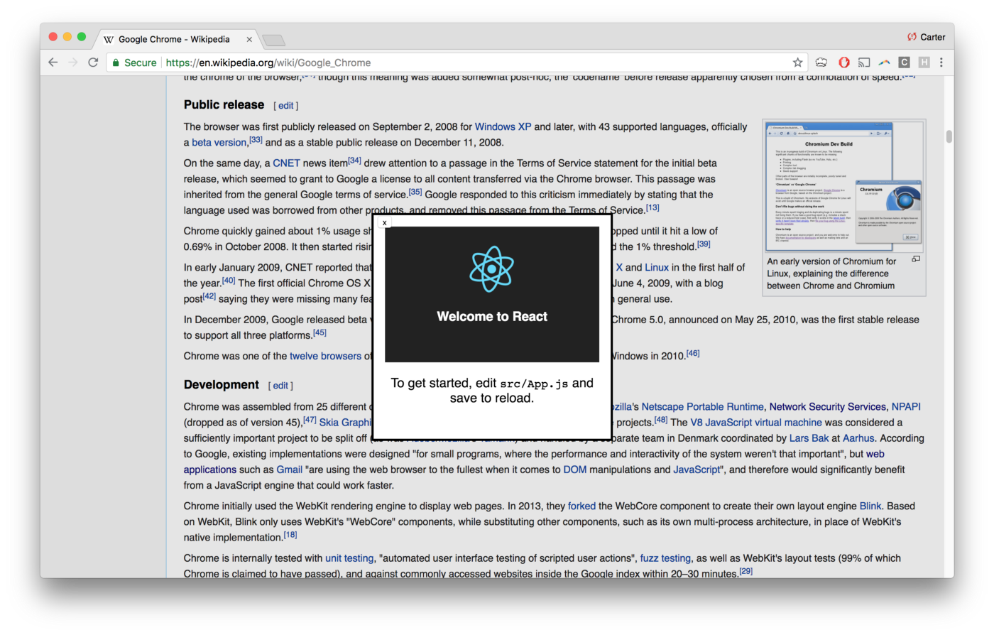 Making an Interactive Chrome Extension with React - Noteworthy - The