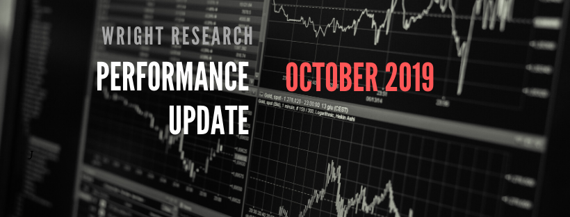 Three month performance update
