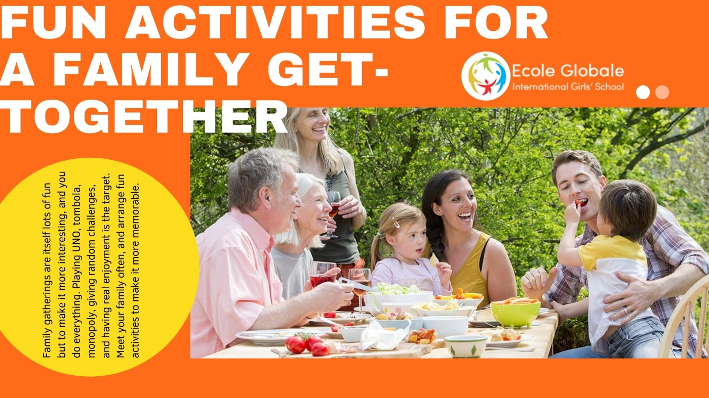 Fun activities for a family get-together