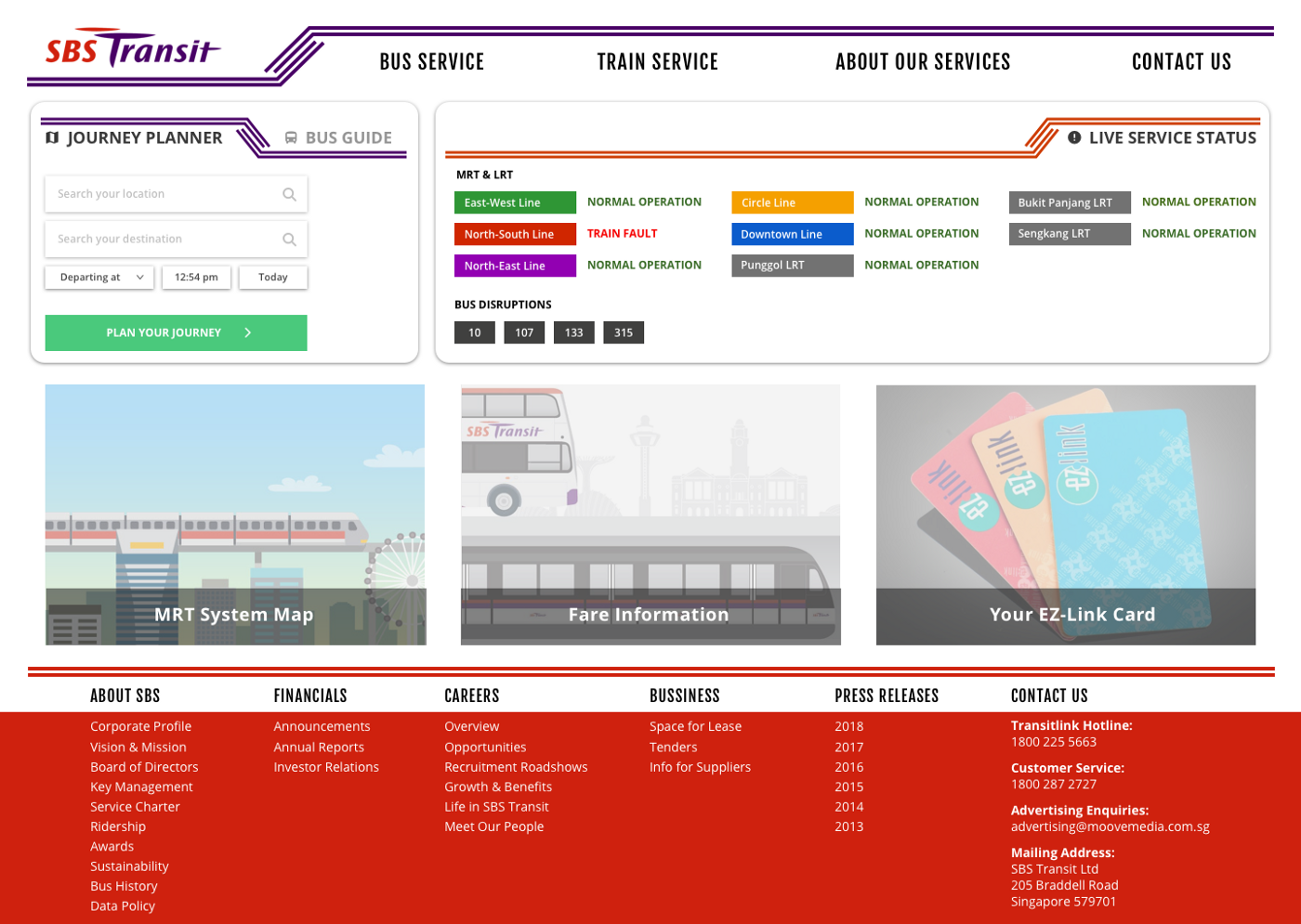 UX Lessons in Revamping the SBS Transit Website - UX Planet