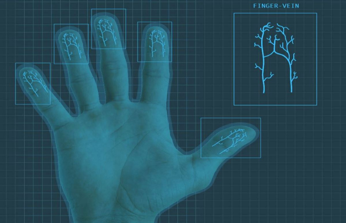 Using Deep Learning for finger-vein based biometric authentication