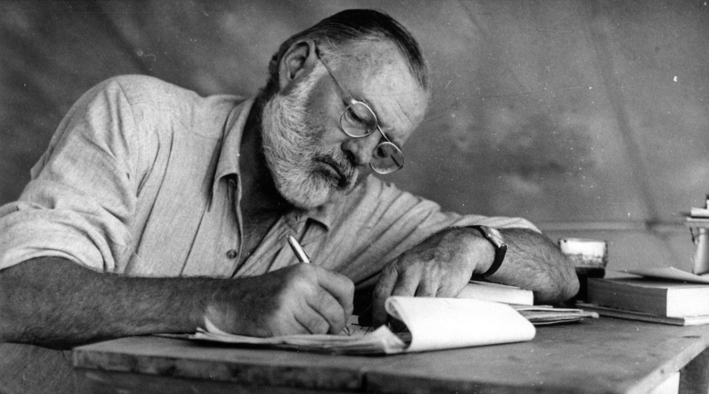 Image result for writer hemingway