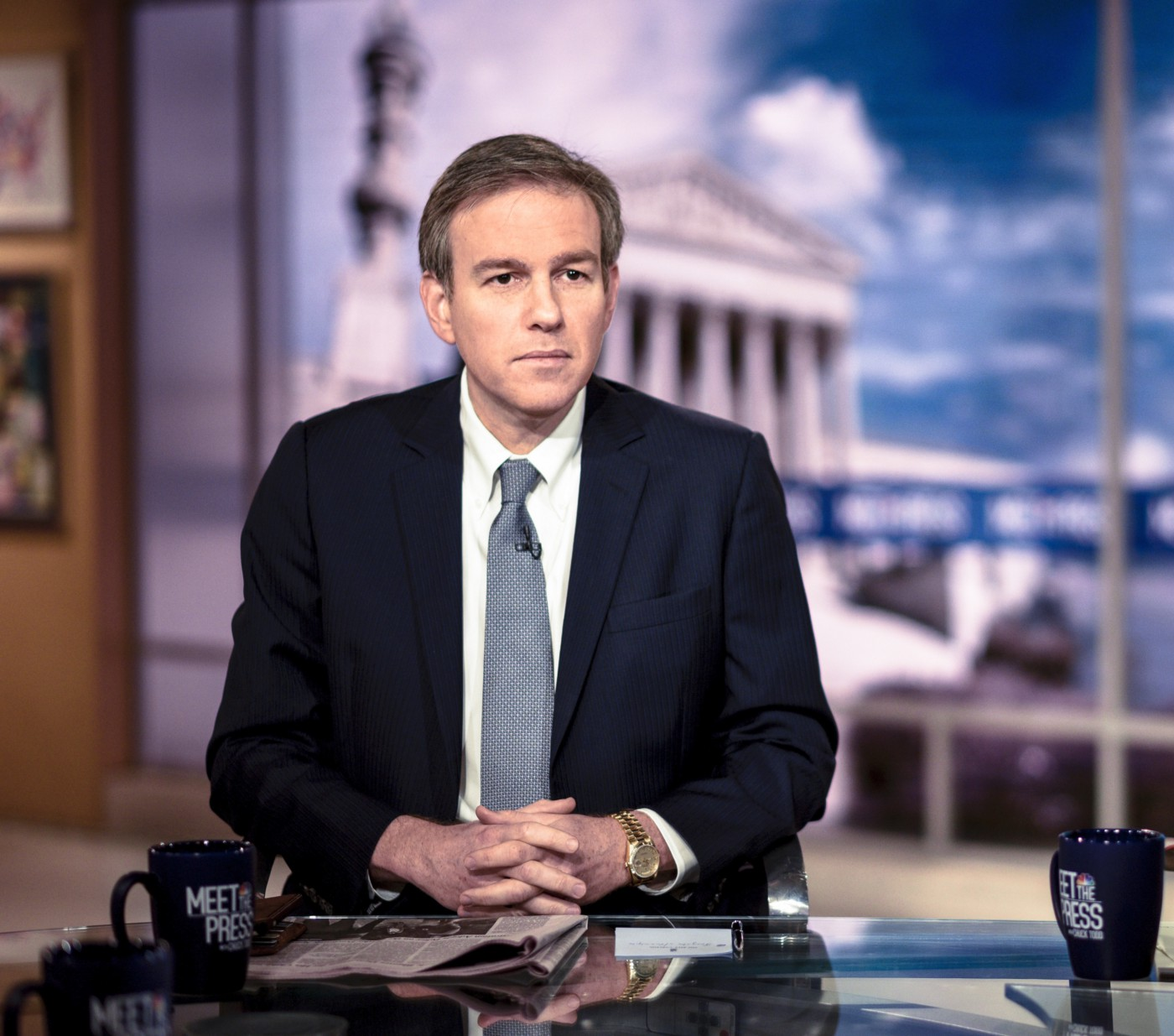 Bret Stephens appears on Meet the Press.