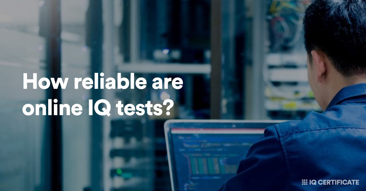 How reliable are online IQ tests?