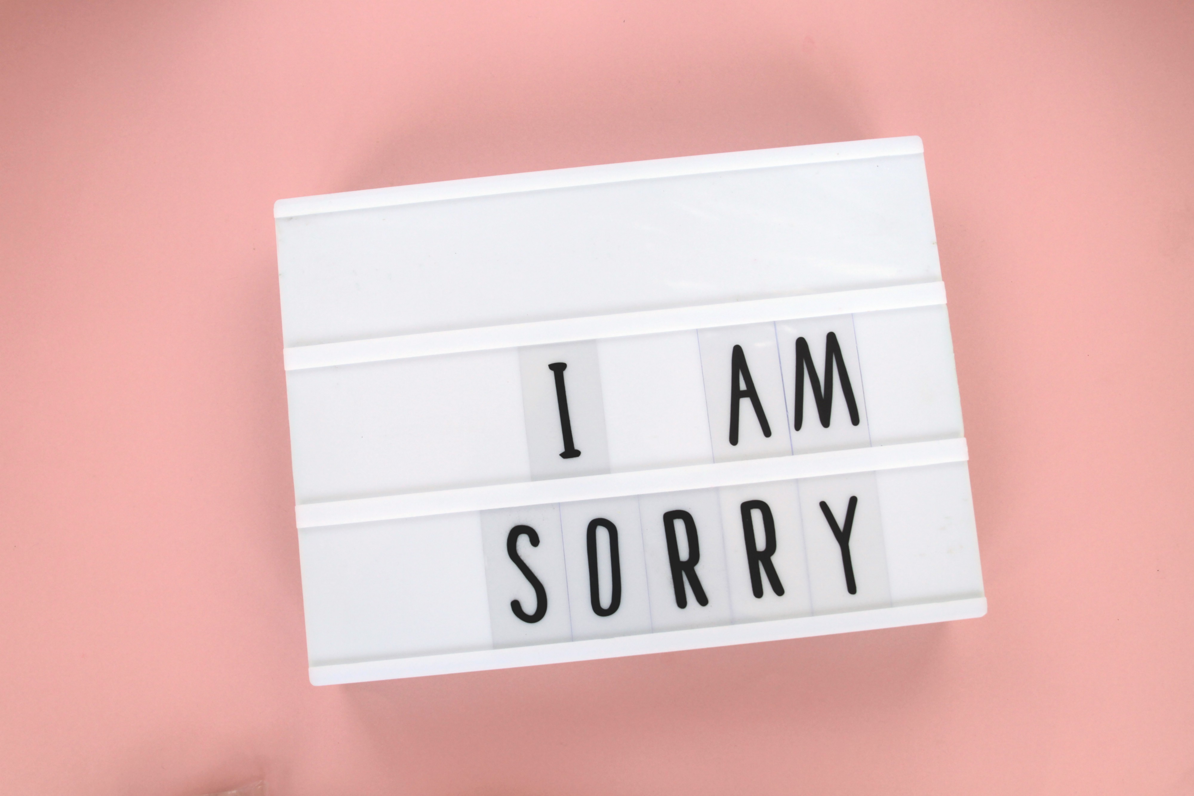 Sorry Not Sorry. Managing your insecurity and imposter… | by Dan Brown | Modus