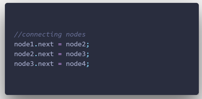 Connecting nodes