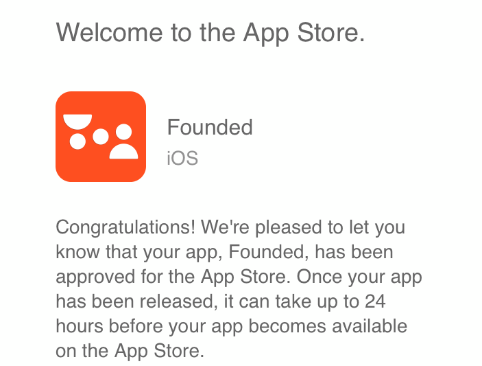 Welcome to the App Store—Founded App Startup Matchmaking