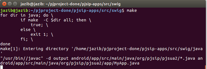 PJSIP Build For Android with Integration of G729 Codec