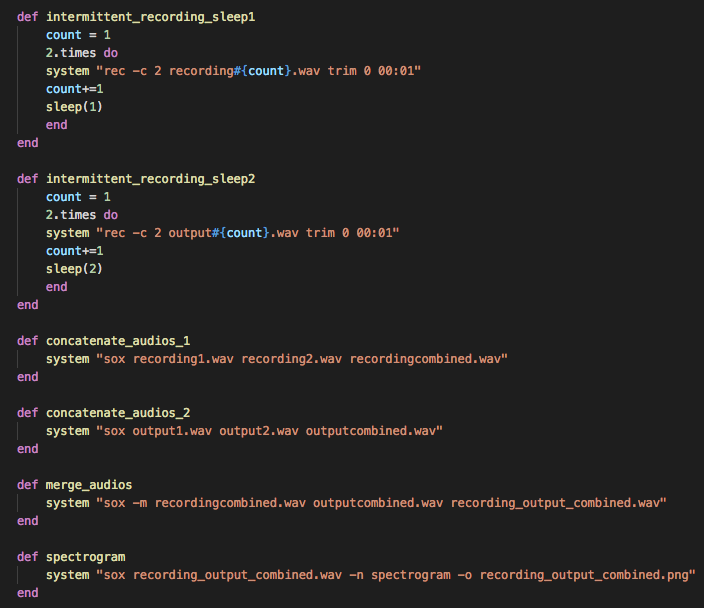 Programming Command Line Audio with SoX and Ruby (pt  1)
