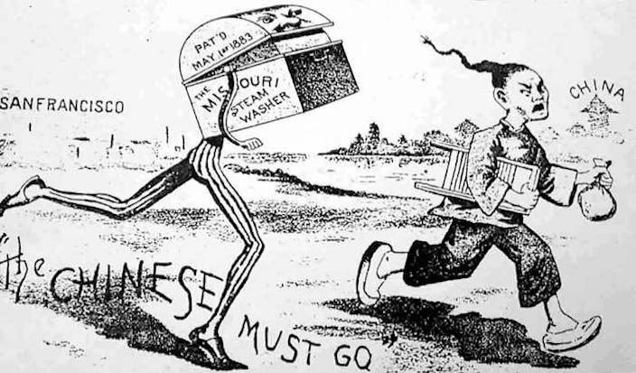 US Congress passed the Chinese Exclusion Act