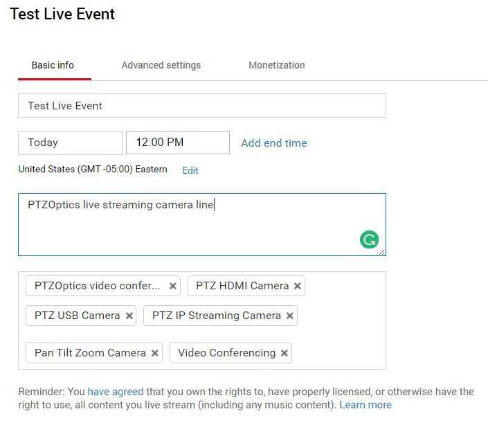3 Common Errors in YouTube Live and how to Troubleshoot