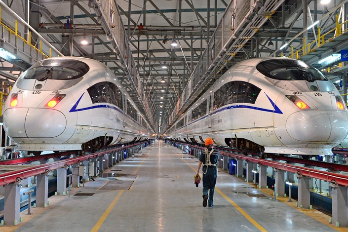 China's High Speed Rail Evolution — the past, present and future.