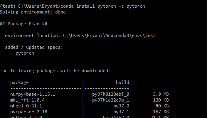 How to Install PyTorch on Windows Step by Step - Bryant Kou