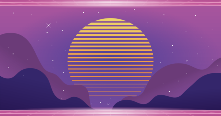 Vaporwave BackgroundVectors by Vecteezy