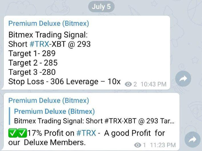 Which is the Best Bitmex Telegram Group in 2019? - travis
