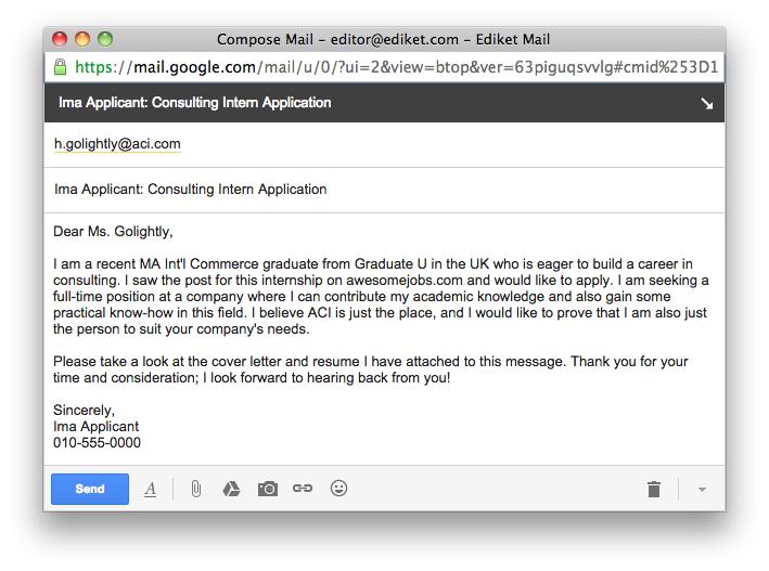 Application Emails: How to Get Noticed from the First Line