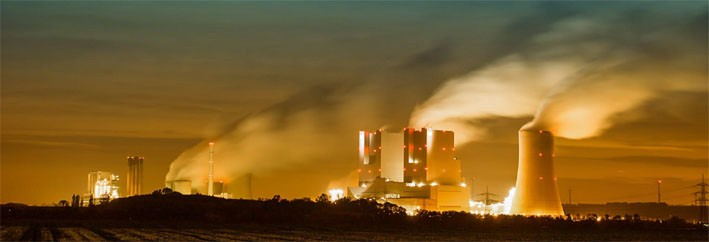 Coal powered energy is a huge pollutant.