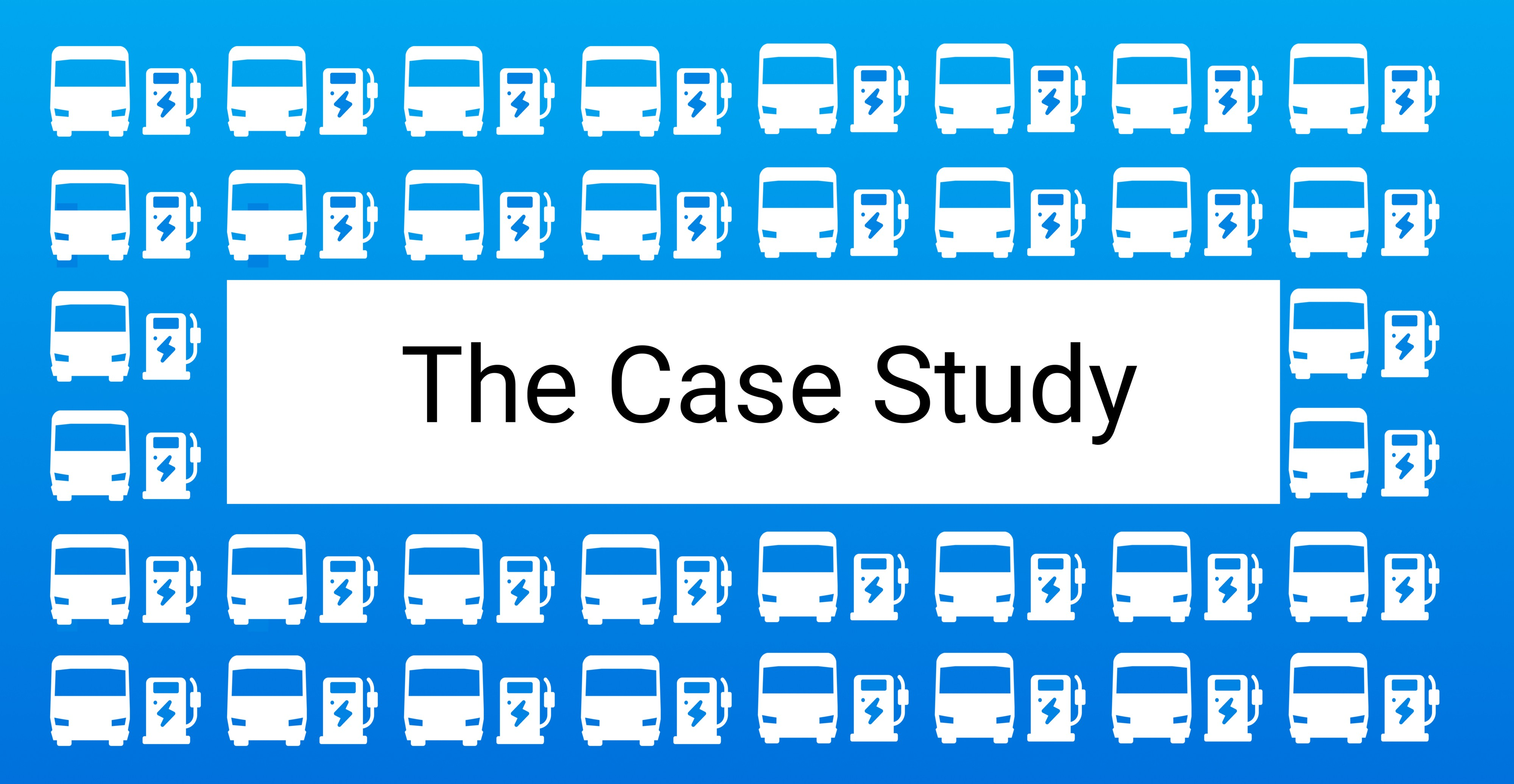 The Case Study for electric bus charging with intelligent fleet management software and smart charging