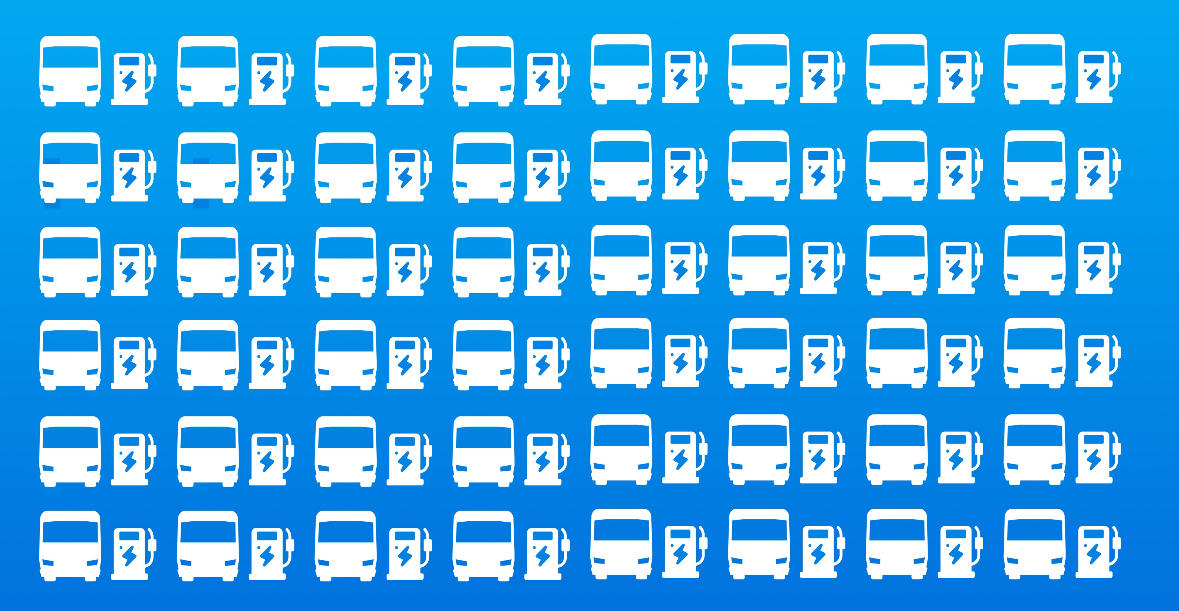 Electric Fleet Depot Charging for Busses by using smart charging like ampcontrol