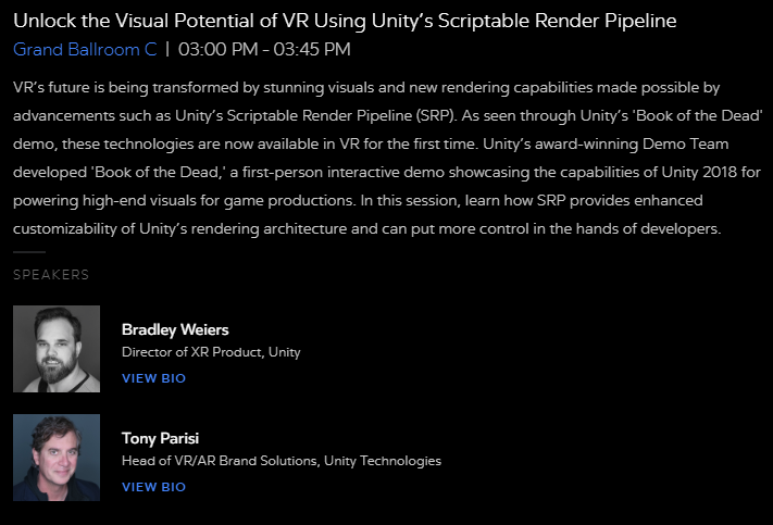 John Riccitiello the CEO of Unity explains how Real Time 3D