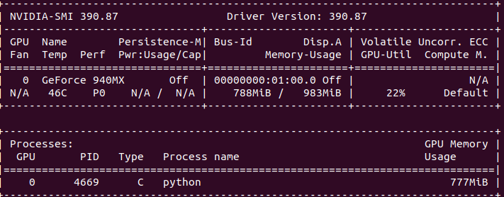 How to dedicate your laptop GPU to TensorFlow only, on