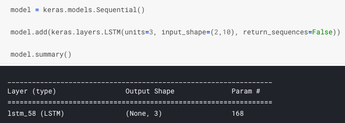 Understanding Input and Output shapes in LSTM | Keras