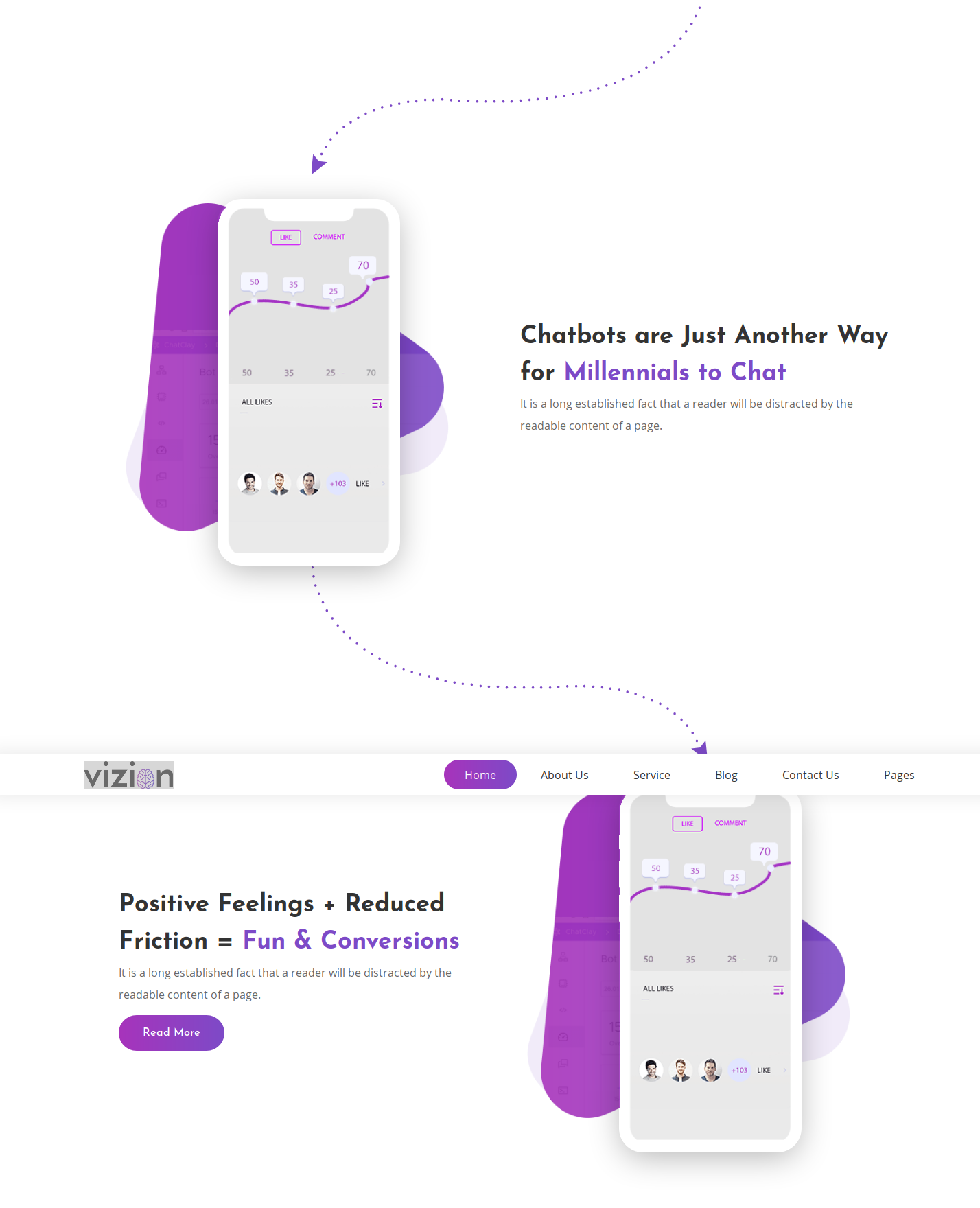 Chatbots in WordPress   Chatbot Template in Vizion AI Startups   Iqonic Design  The Undying Trend: Chatbots (What It Has To Do In 2019) 1 fgd9osa4TkmF3AlcCInvZQ