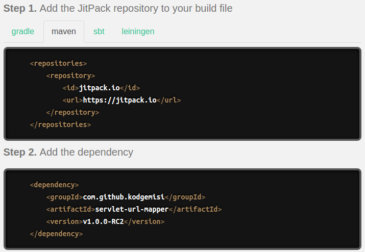 Jitpack — How to add dependencies not published in Maven Central