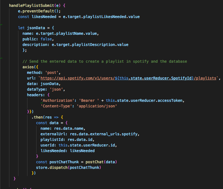 Beginner S Guide To The Spotify Web Api By Alex Ginsberg Medium