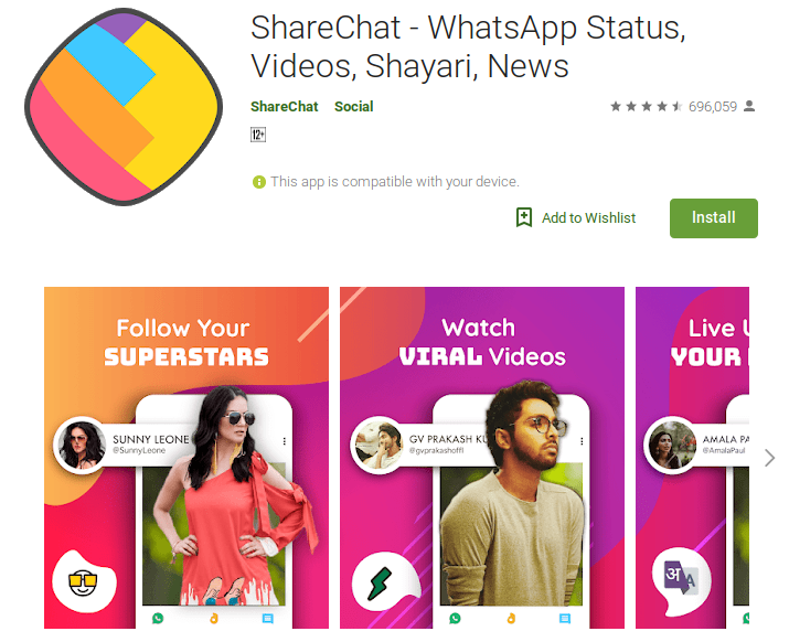 Problem With Share chat, Samosa, Clip India and all the apps