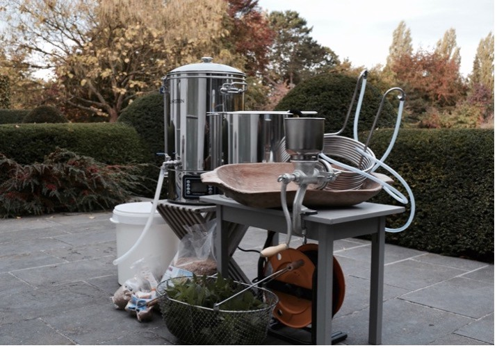 A Reasonably High-End All-Grain Homebrewing Setup (Comparable to bioreactors used in upstream bioprocessing)