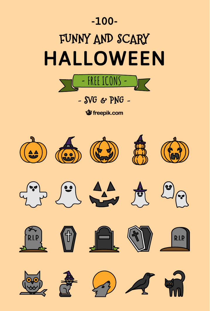 Halloween Freebies for Designers - Order Group - Medium