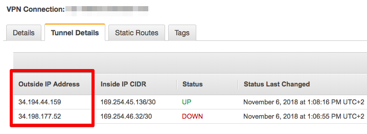 Connecting AWS and Alibaba Cloud networks using managed VPN