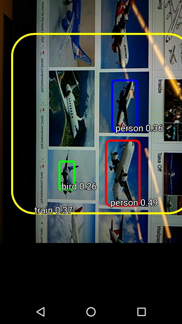 Real-time Object Detection on Android using Tensorflow