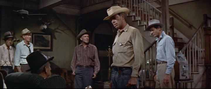A crippled character played by Spence Tracy shows us by example how not to cave in to menacing bullies in the John Sturges 1955 MGM classic Bad Day at Black Rock written by Millard Kaufman.
