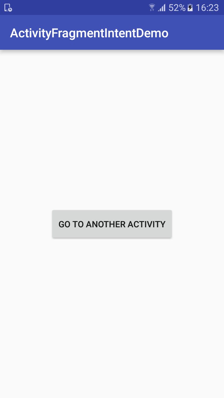 Android app components : activity, Fragment, Intent - androidhunger.com