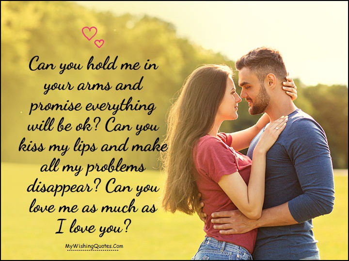 Sweet And Romantic I Love You Messages For Wife By My Wishing